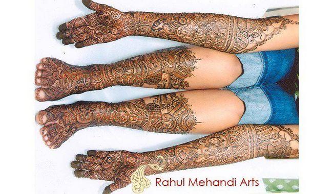 Mehendi artista em Mumbai