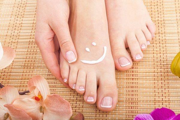 mimar os seus pés fazer o seu dia