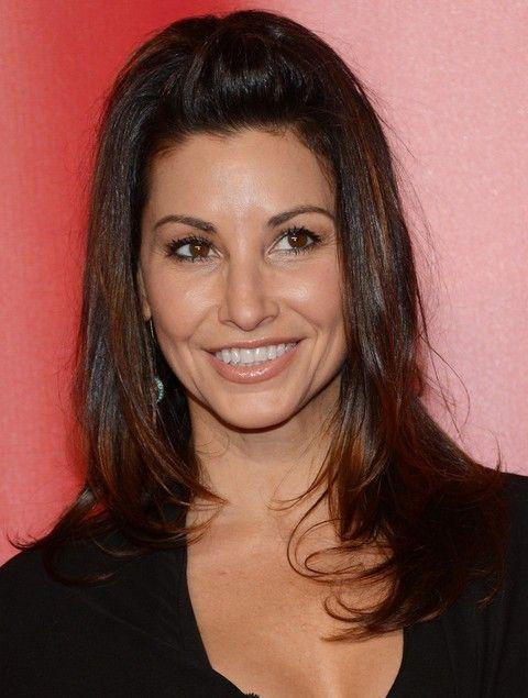 Gina Gershon Penteados: Cute Half-baixo Half-up