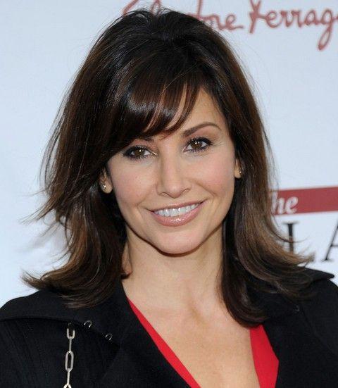 Gina Gershon Penteados: Layered Haircut