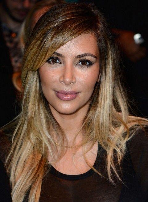 Top 15 penteados kim kardashian - kim cortes de cabelo imagens