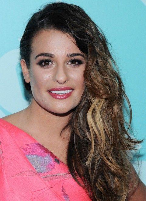 Lea Michele Penteados: Ondas separaram-Side