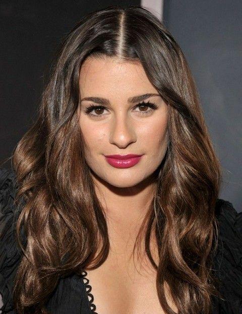 Lea Michele Penteados: Ondas lindos