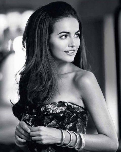 Camilla Bella Penteados: Voguish ondulado corte de cabelo