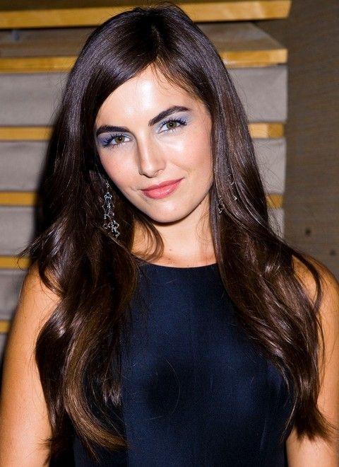 Camilla Bella Penteados: Pretty Haircut Hetero separaram-Side