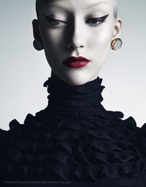 Trendy Makeup Red Lip