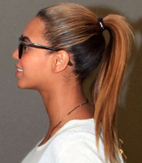 Beyonce penteados: Juvenil de-cavalo
