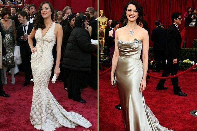 Top 25 melhores vestidos oscar revelou