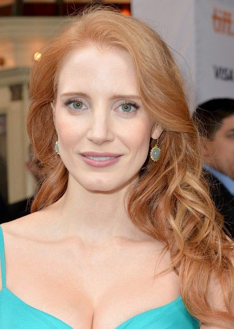Top 27 penteados jessica chastain