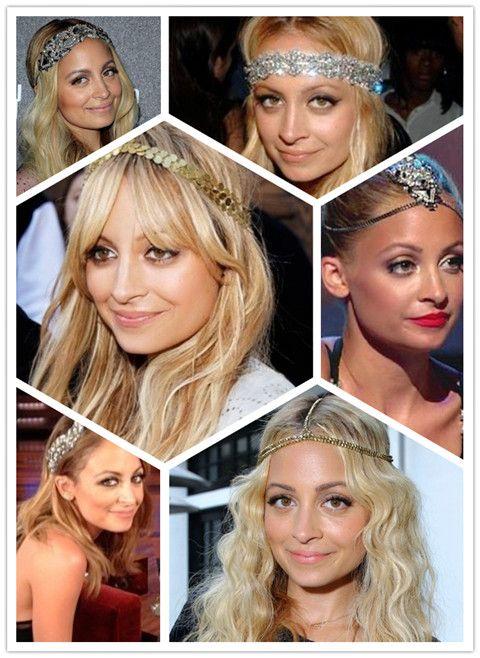 Nicole Richie Penteados: Penteados com Headband