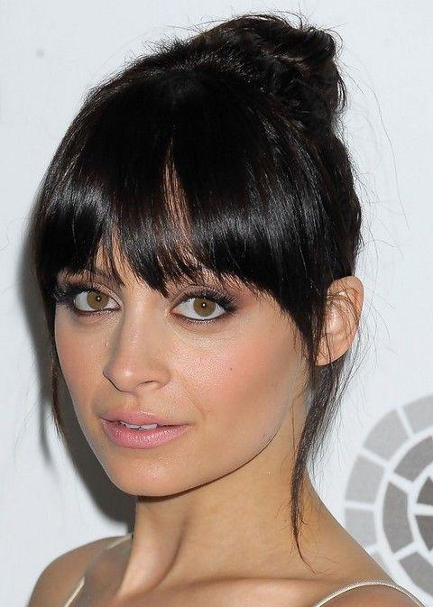 Nicole Richie Penteados: Corvo nó de cabelo