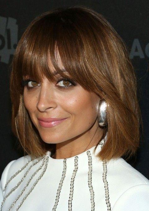 Nicole Richie Penteados: Corte de cabelo Liso Medio