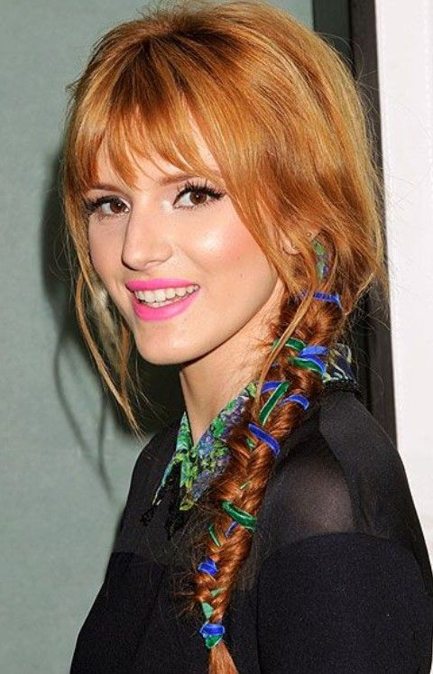 Nicole Richie Penteados: Holiday Braid