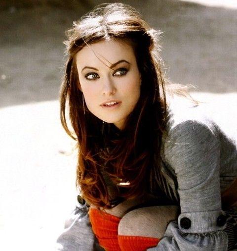Olivia Wilde Penteados: Beautiful Meio-up Half-baixo Penteado
