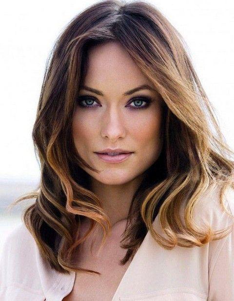 Olivia Wilde Penteados: Elegante Médio Curls