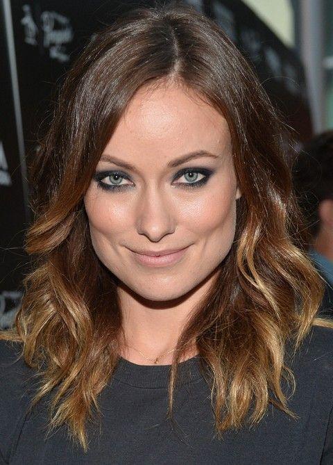 Olivia Wilde Penteados: Médio moderno ondulado Haircut