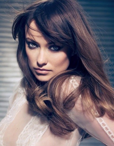 Olivia Wilde Penteados: Chic Haircut Hetero