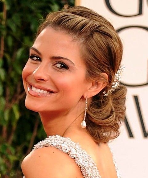 Maria Menounos Penteados: Gorgeous Updo