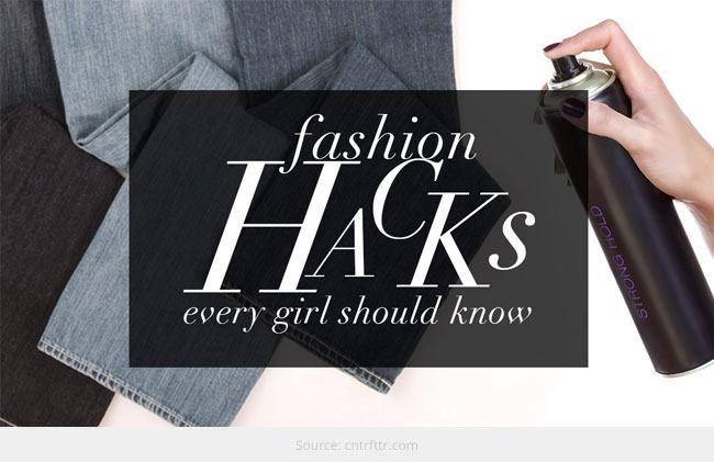 Top 5 de moda hacks que você pode importar considerando