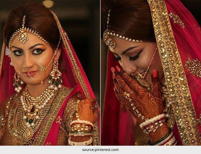 Top 5 estilo de noiva indiana - parte 2