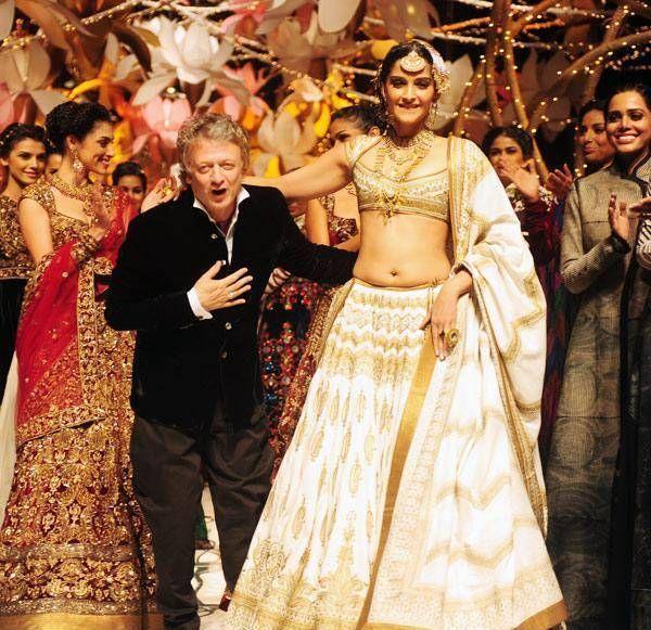 Sonam Kapoor Rohit Bal semana de moda nupcial