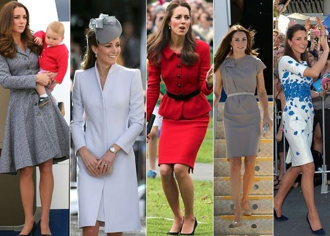 Kate Middleton trajes superiores