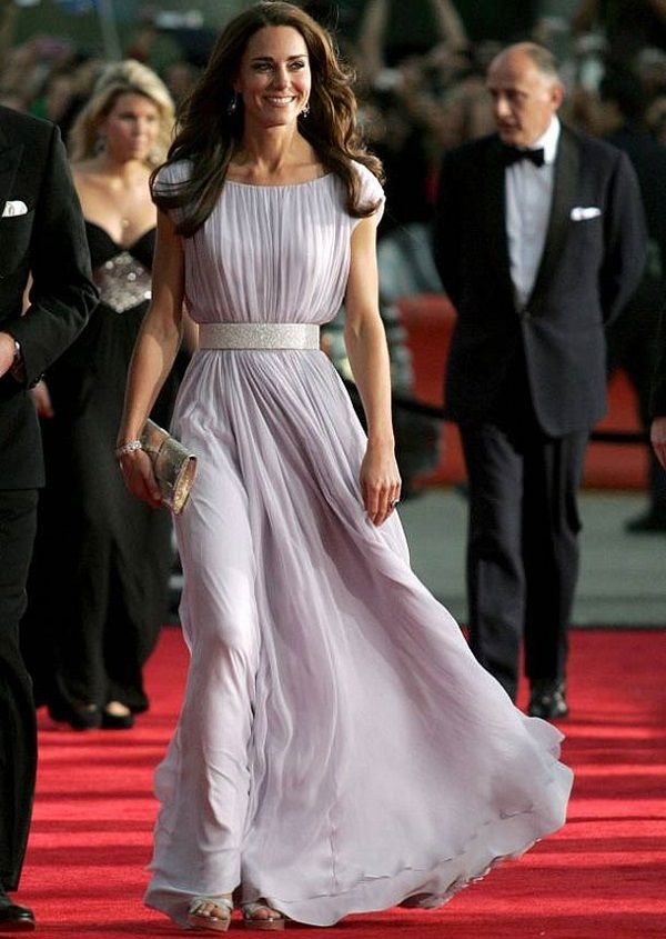 Kate Middleton BAFTA vestido