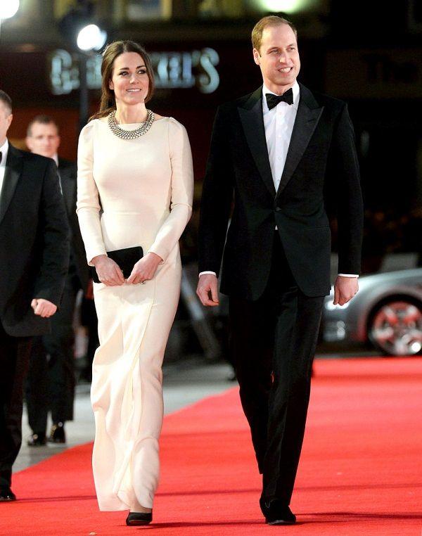 vestido de Kate Middleton Mandela Premiere