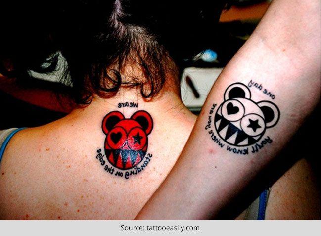 Top 50 ideias bonitos par de tatuagem