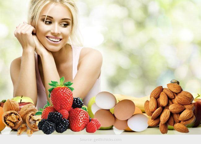 Top 7 alimentos mais saudáveis para as Mulheres