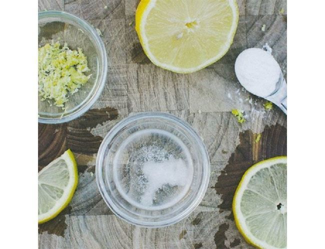Limão e água de coco