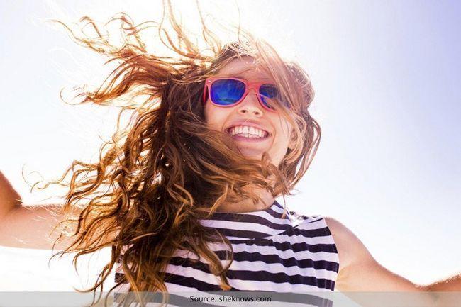 Protectores solares de cabelo
