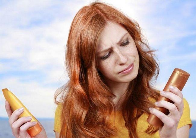 Protetor solar para o cabelo