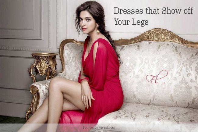 Top cinco vestidos que mostram as pernas