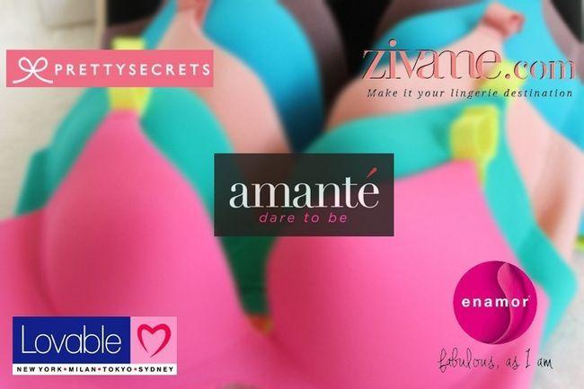 Principais marcas de lingerie cinco online na índia