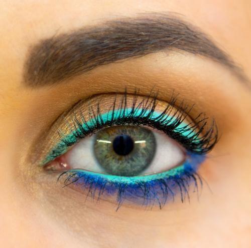 Brilhante Colorido Eyeliner