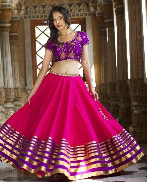 projeto blusa mais recente para metade sari # 5