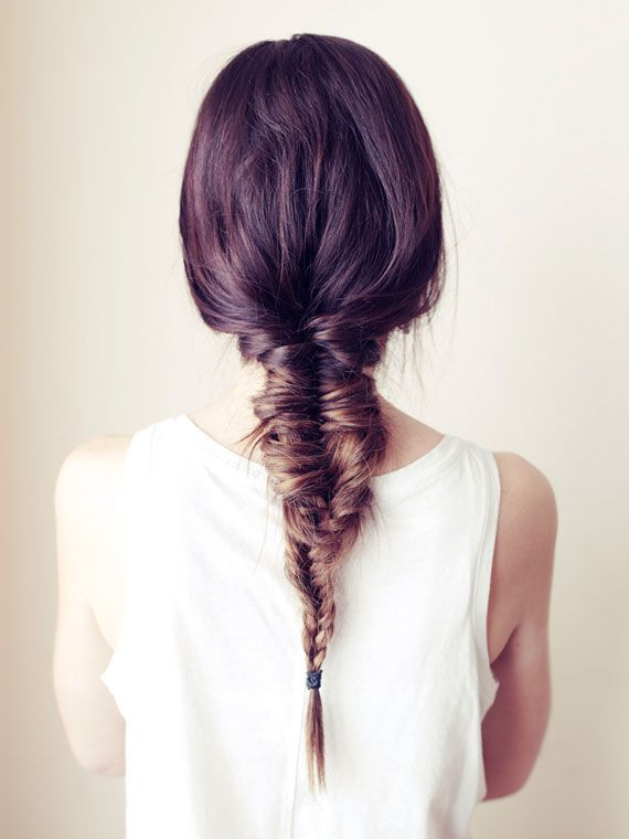 Elegante Fishtail Braid