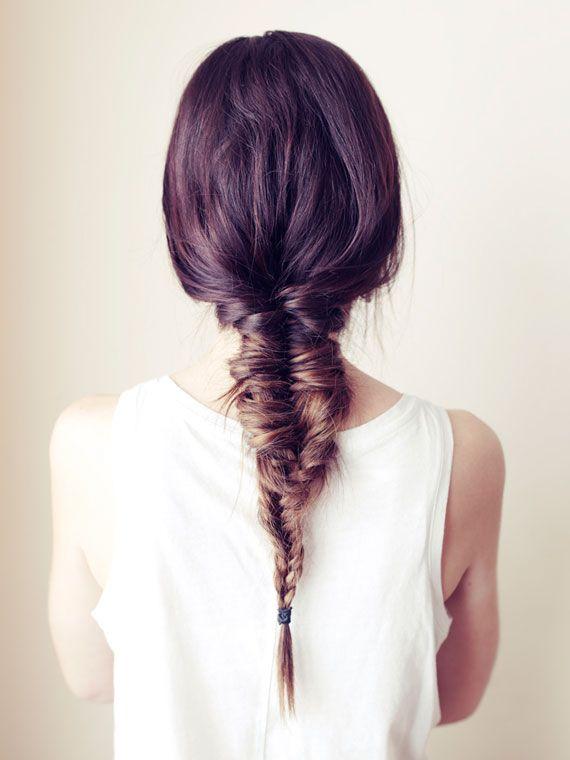 Elegante Fishtail Braid