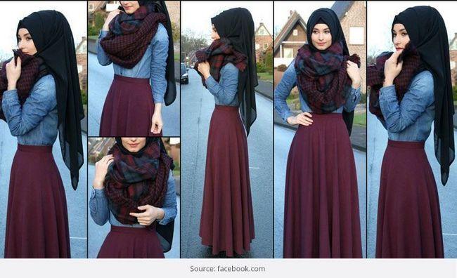 Estilos hijab moda para alarde em eid 2015 celebrações do partido