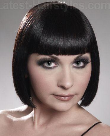 Corte de cabelo Flapper por Mulheres