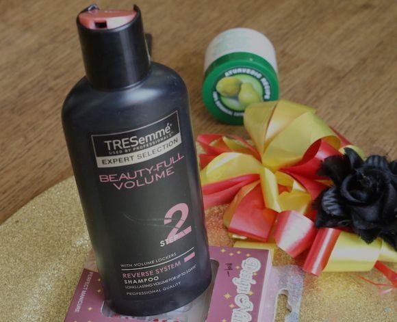 Tresemme beleza cheio inversa volume de avaliação shampoo sistema