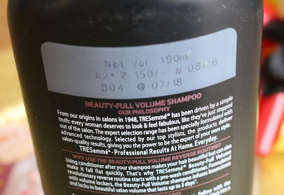 Tresemme-beauty-full-volume-shampoo-step-2-for-bela-hair