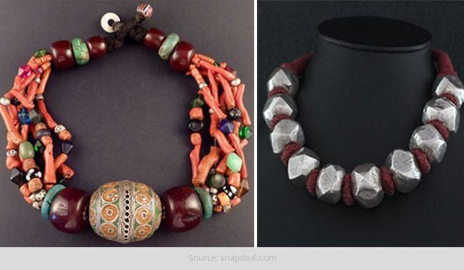 Joalharia tribal - elegante e rústico