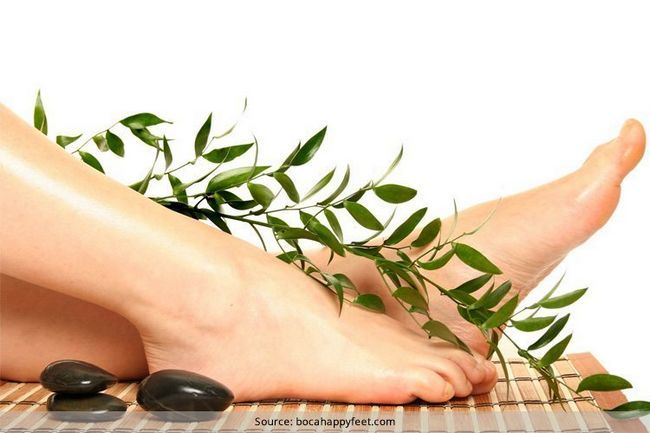Home remédios para os pés inchados