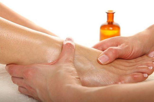 Remédios para os pés inchados