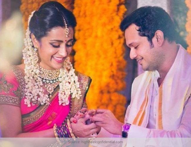 Trisha krishnan fica noiva!