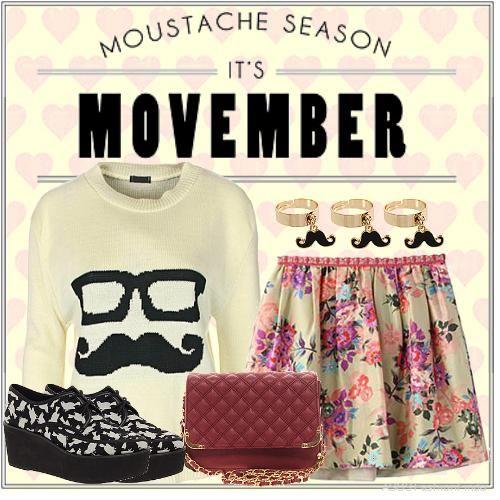 Tente estas idéias roupa da moda para movember