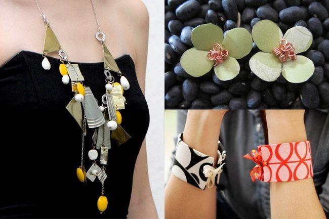 Transforme seu lixo para tesouro: fazer jóias reciclado a partir de materiais indesejados