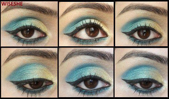 Ideias de maquiagem para olhos castanhos escuros